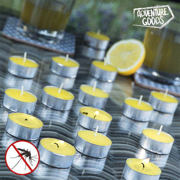 Adventure Goods Citronella Scented Candles (pack of 15)