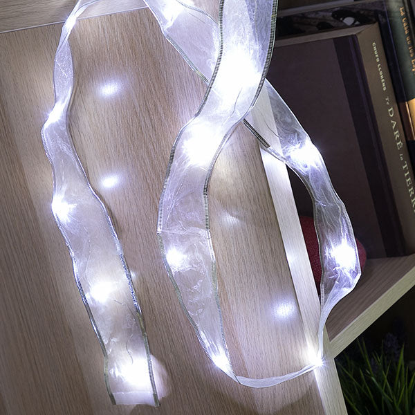 Organza LED Garland (15 LED Lights)