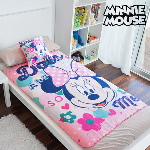 Minnie Blanket and Cushion Set