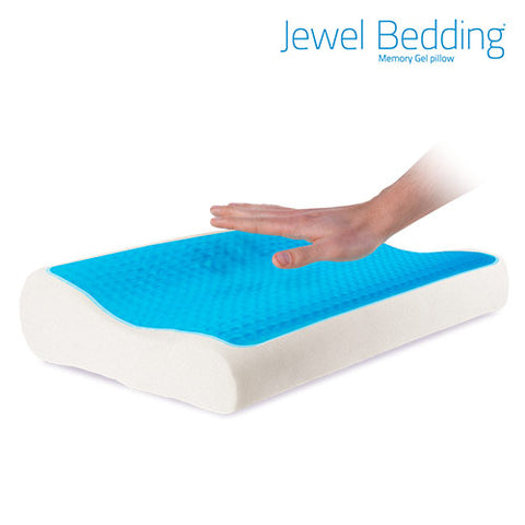 Jewel Bedding Gel Pillow