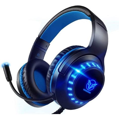 Gaming Headset with Microphone Blue (Refurbished A+)
