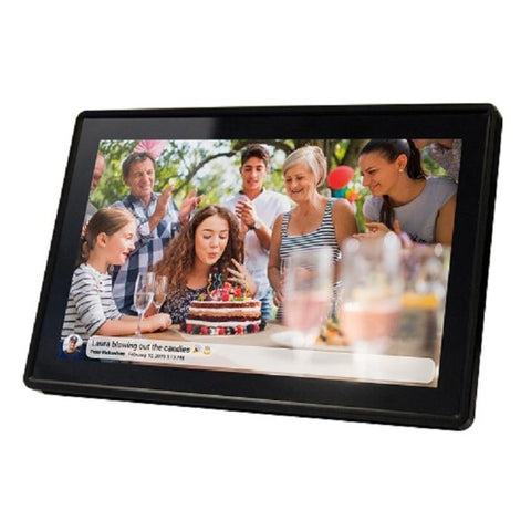 Digital photo frame Denver Electronics Black (11,6)