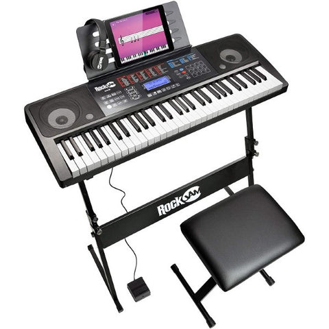 Electric Piano RockJam Kit Black (Refurbished A+)