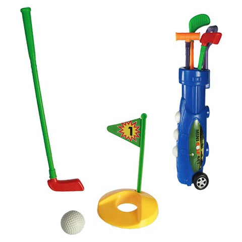 Plastic Caddy Golf Set (9 Pieces)