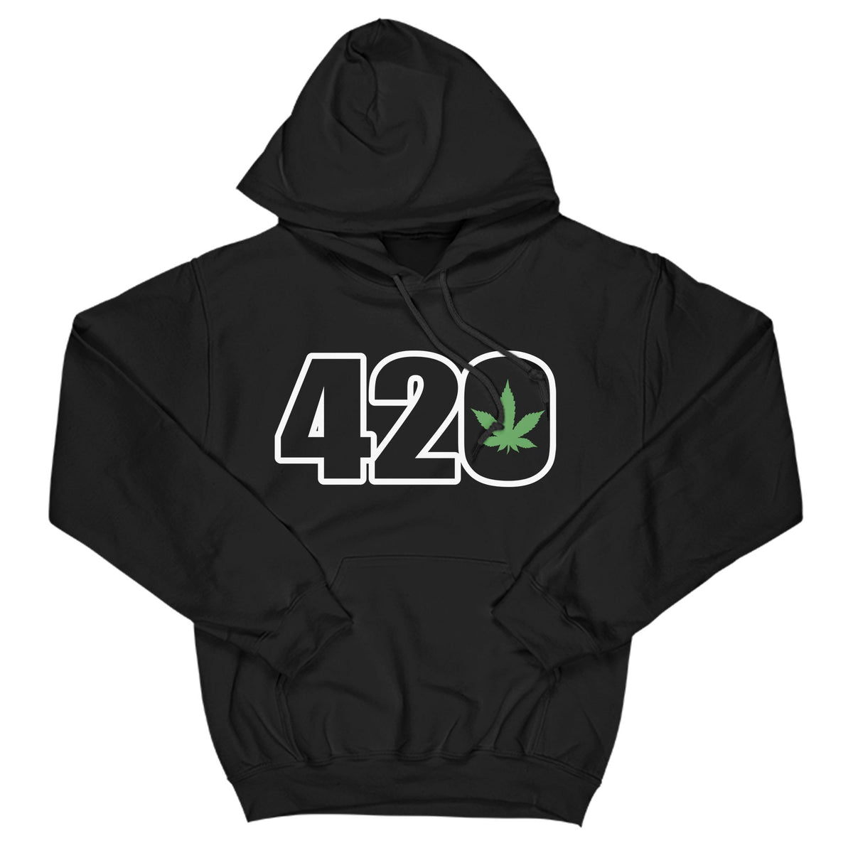 420 Primate Novelty Hoodie Adults: S