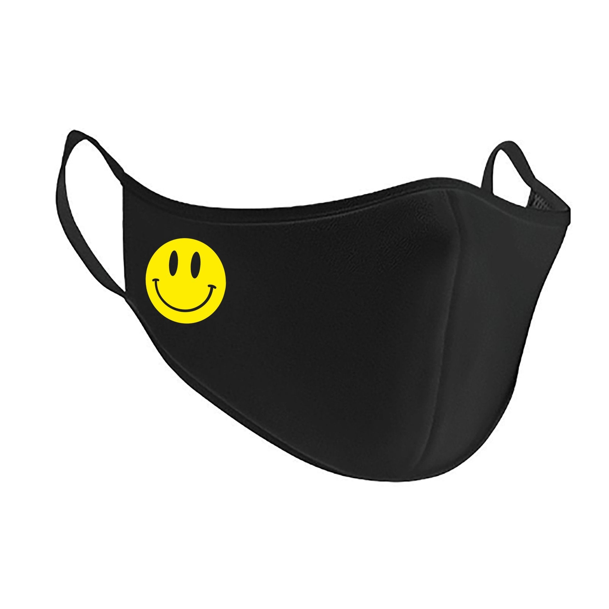 Acid Smiley Antimicrobial Washable Face Mask Face Mask Primate Face Masks