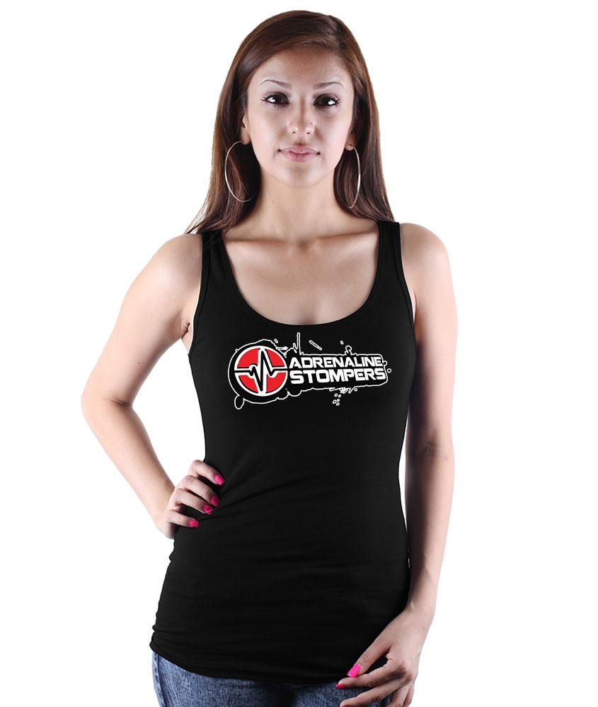 Adrenaline Stompers Woman's Tank Customisable Adrenaline Stompers Small Black