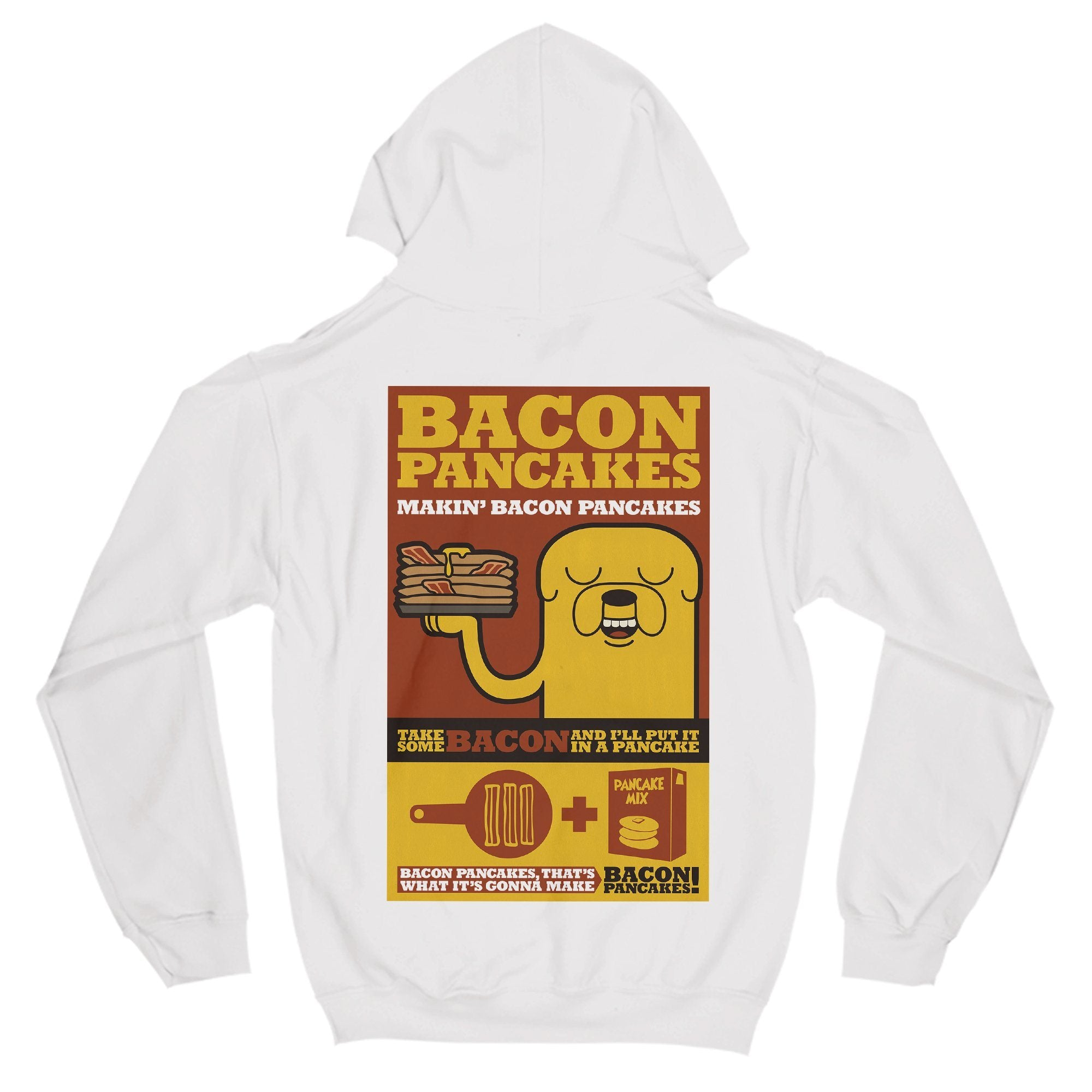 Bacon Pancakes Primate Novelty Unisex T-Shirt Adults: S