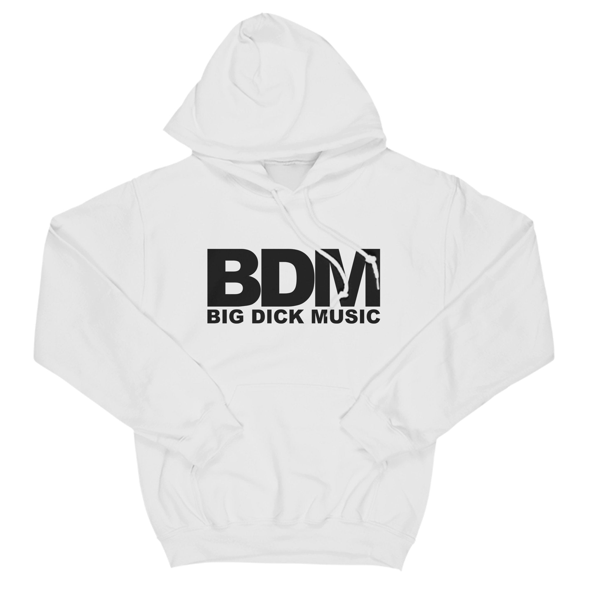 BDM White & Black BDM Unisex T-Shirt Adults: S