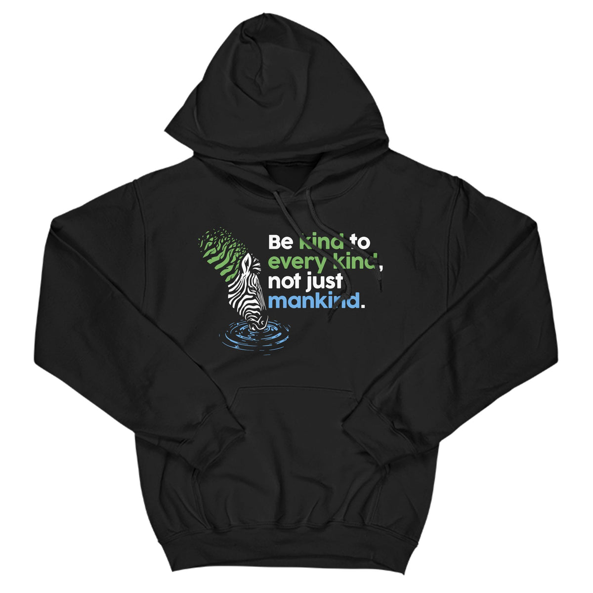 Be Kind Primate Novelty Hoodie Adults: S