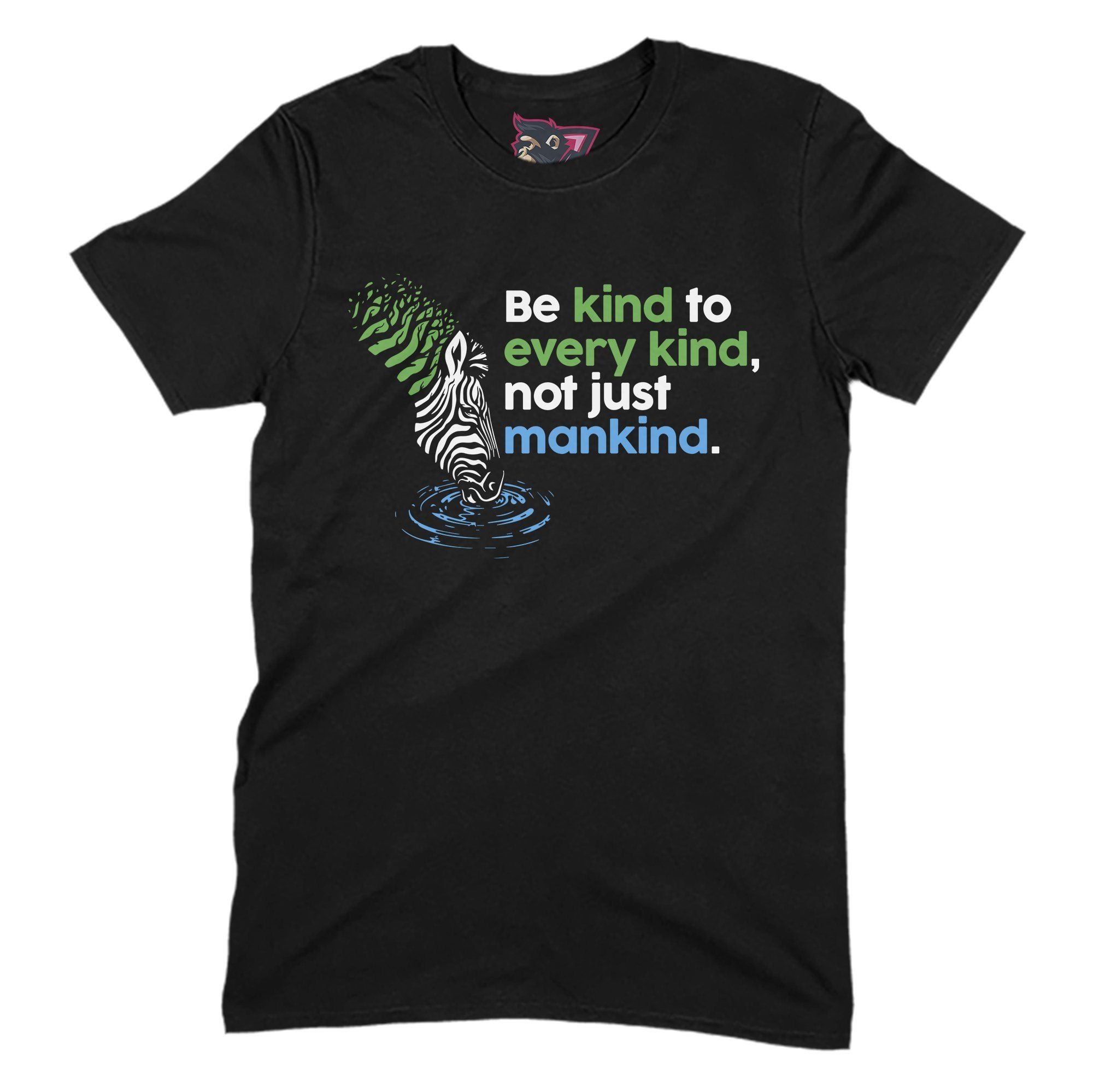 Be Kind Primate Novelty Unisex T-Shirt Adults: S