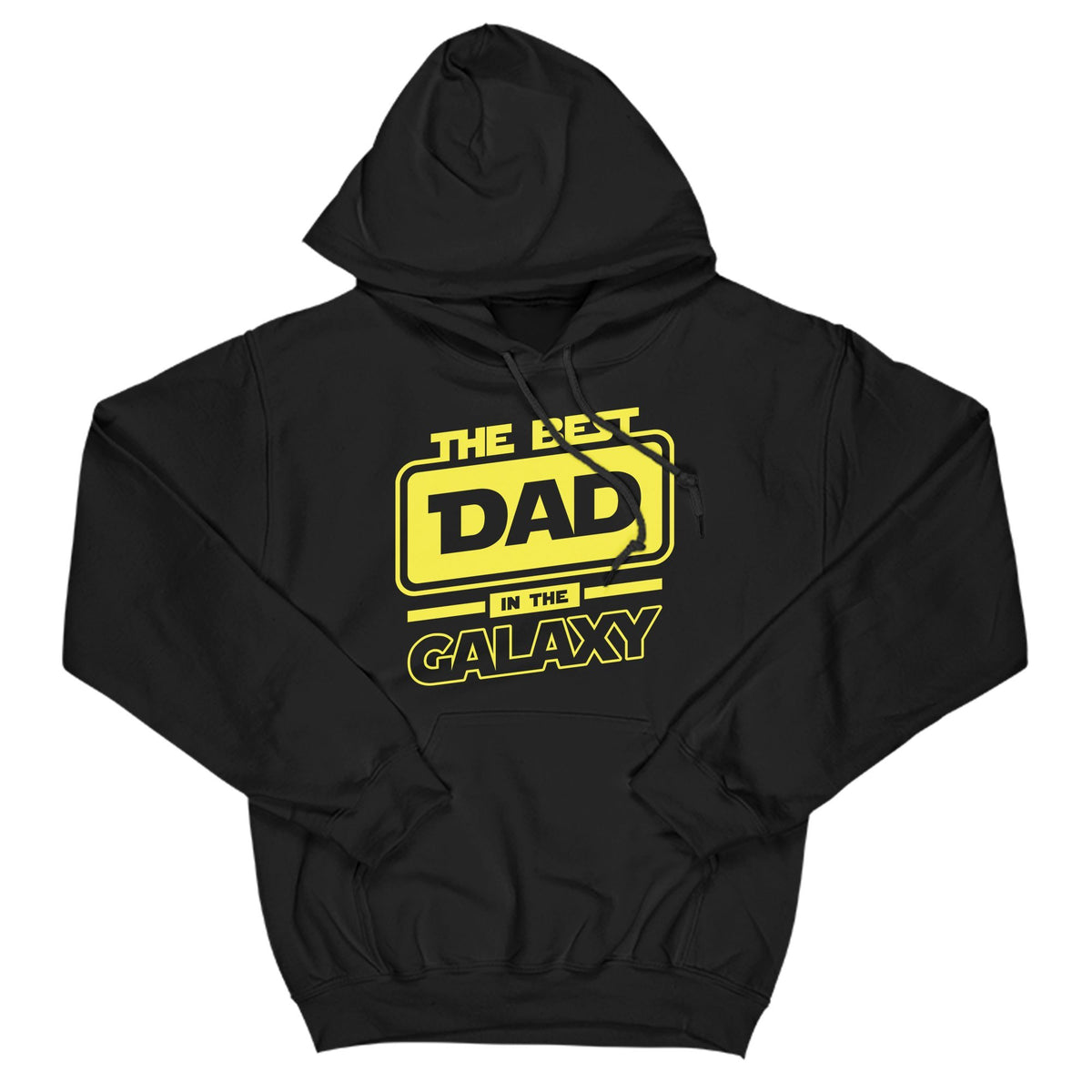 Best Dad In The Galaxy Primate Novelty Hoodie Adults: S