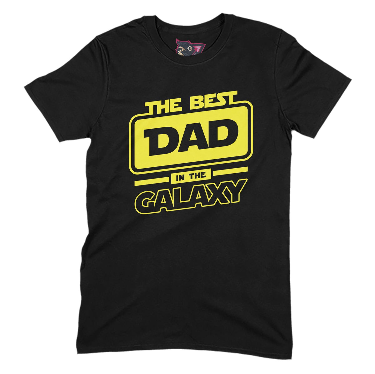 Best Dad In The Galaxy Primate Novelty Unisex T-Shirt Adults: S