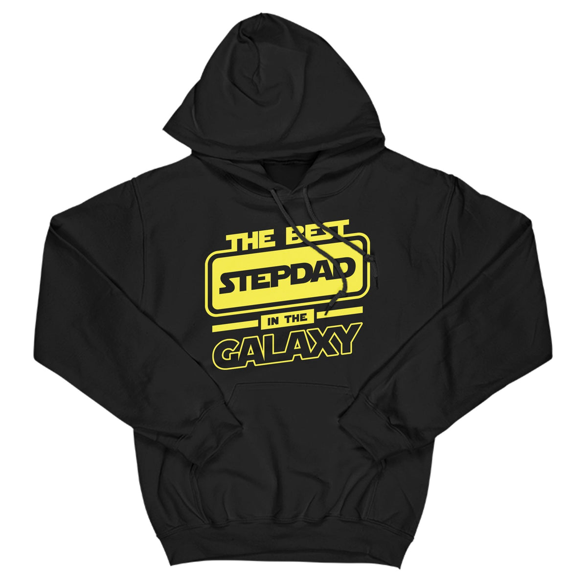 Best Stepdad In The Galaxy Primate Novelty Hoodie Adults: S