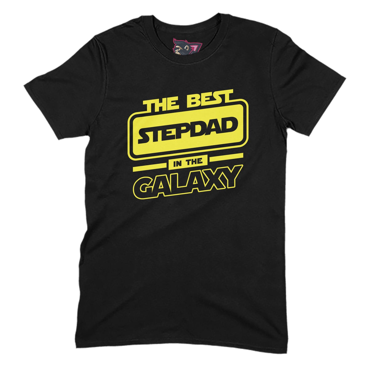 Best Stepdad In The Galaxy Primate Novelty Unisex T-Shirt Adults: S