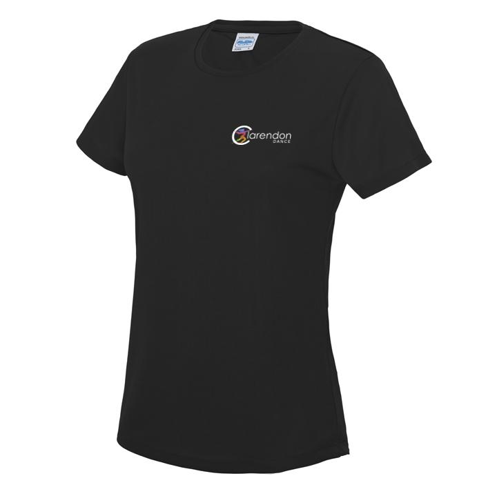 Clarendon Dance Cool Sports Girls T-Shirt (JC005) customisable Clarendon Dance