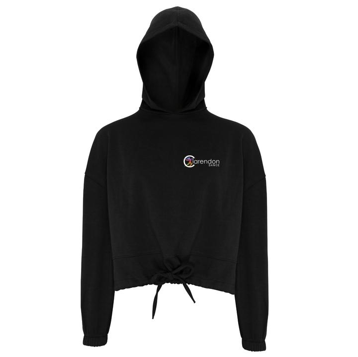 Clarendon Dance Oversize Cropped Hoodie (TR085) customisable Clarendon Dance