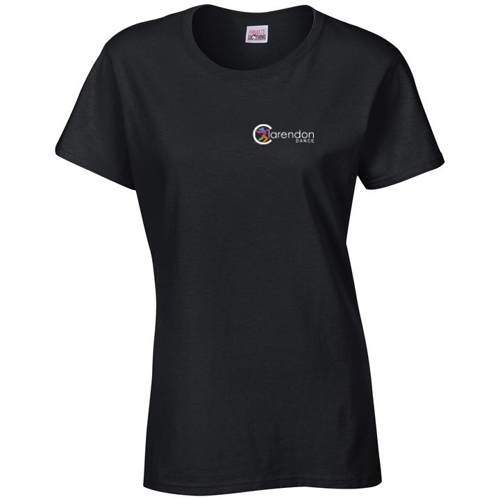 Clarendon Dance Womens T-Shirt (GD006) customisable Clarendon Dance