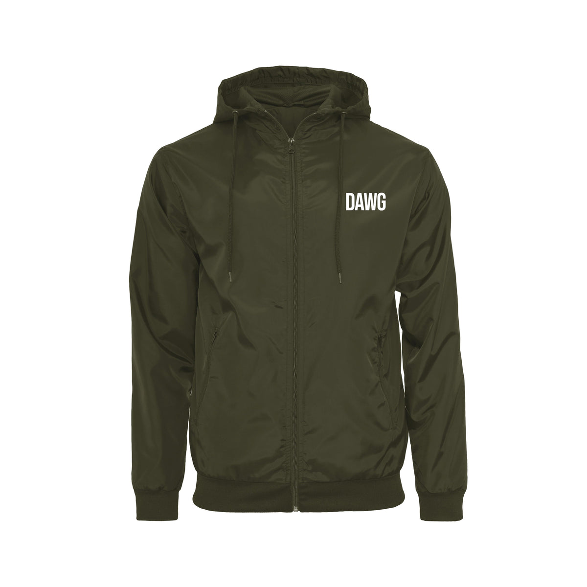 DAWG Compass Windrunner (BY016) - Front & Back Print DAWG