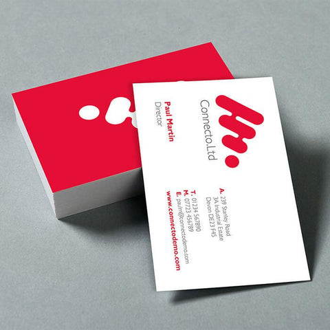 Double Sided Business Cards Print Media Matt 500