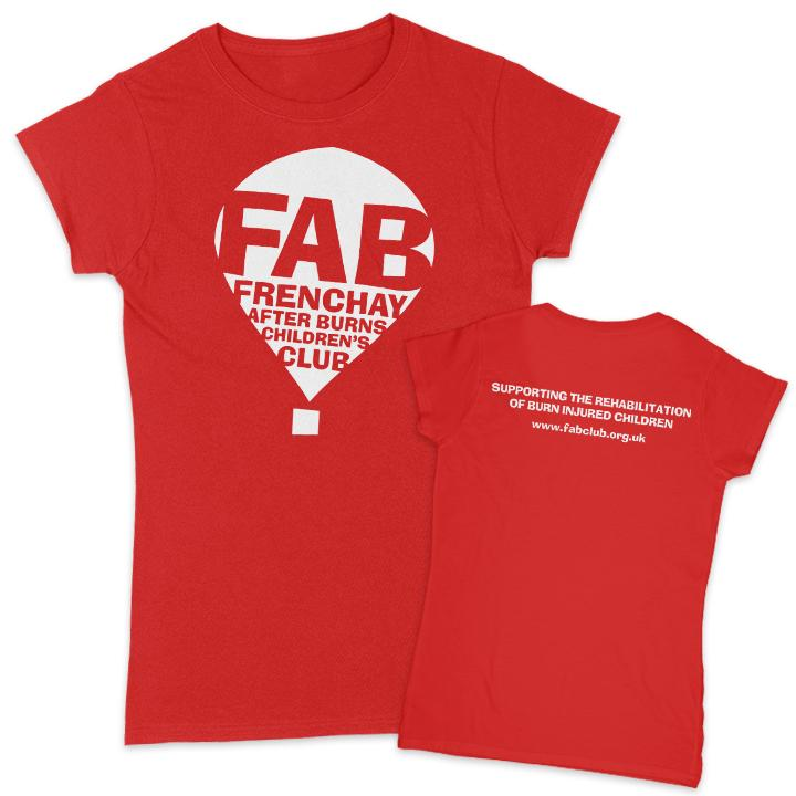 FAB Women's T-Shirt FAB Small Red