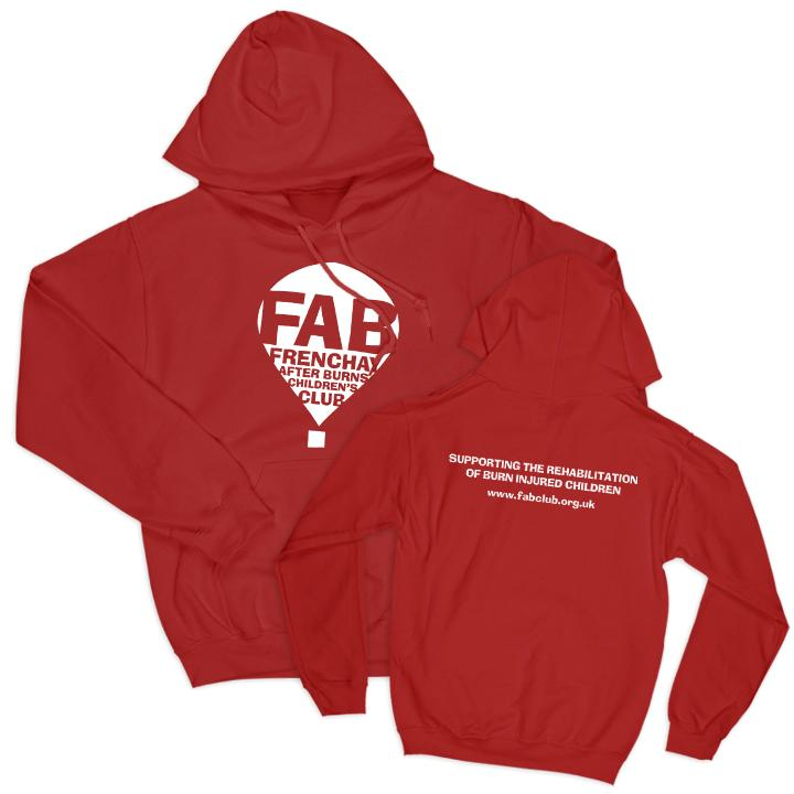 FAB Youth Hoodie FAB 3-4 Years Red