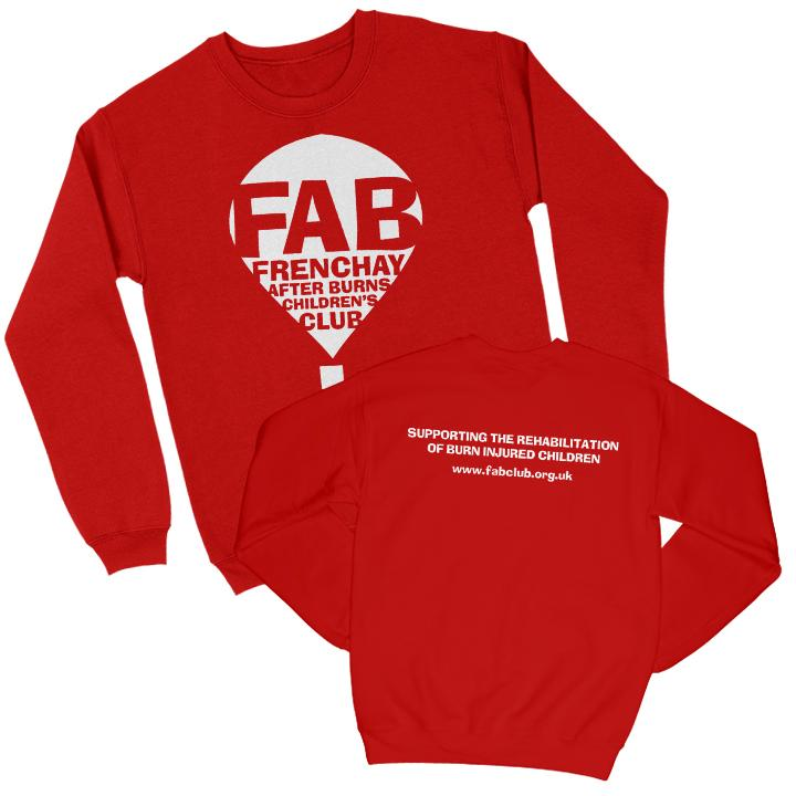 FAB Youth Sweatshirt FAB 3-4 Years Red
