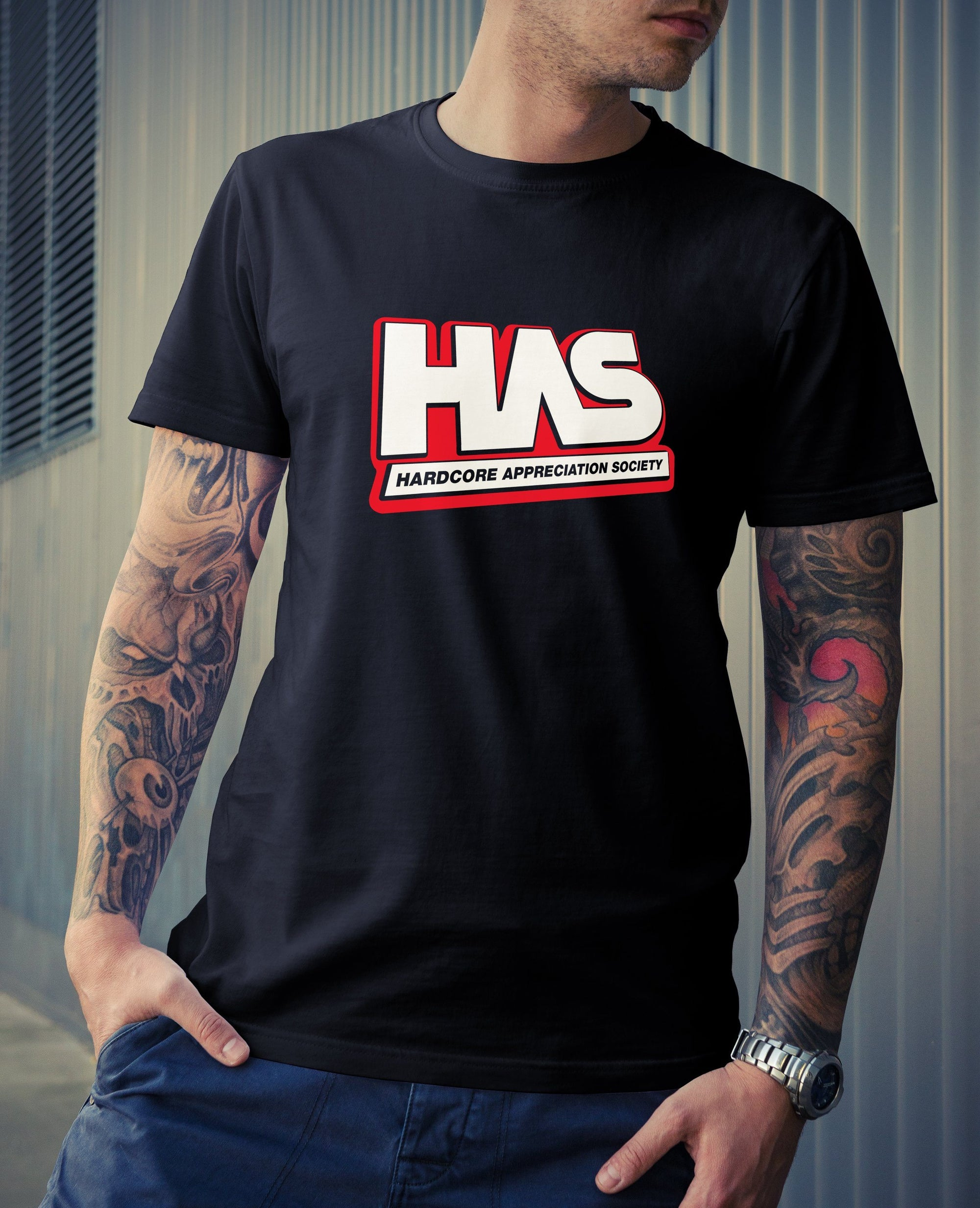 HAS Red HAS Unisex T-Shirt Small