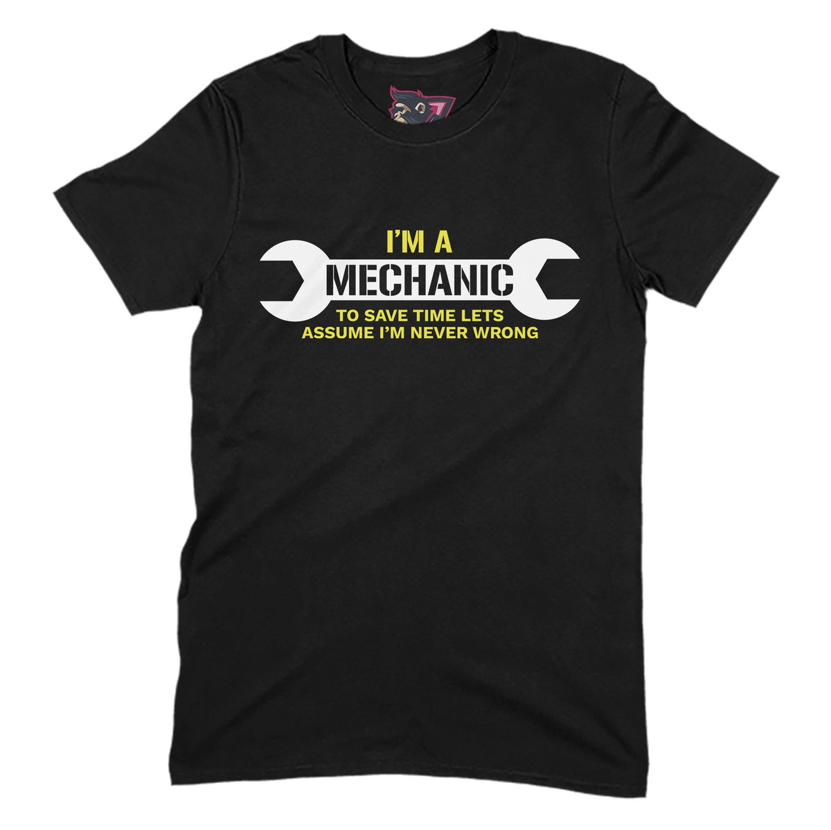 I'm A Mechanic Primate Novelty Unisex T-Shirt Adults: S