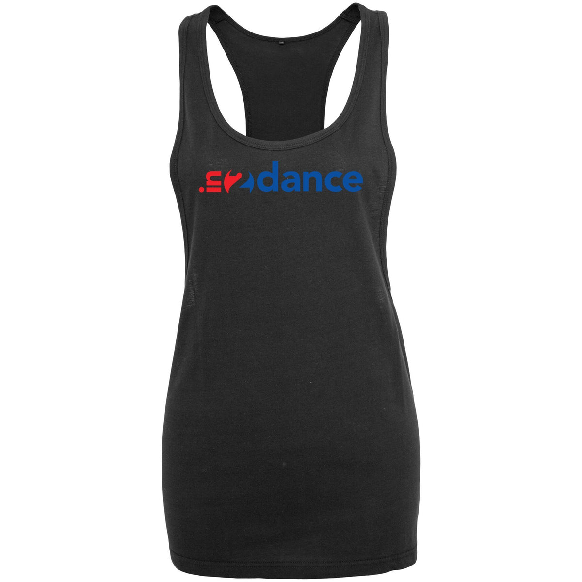 In2Dance: Black Loose Tank In2Dance Unisex: S