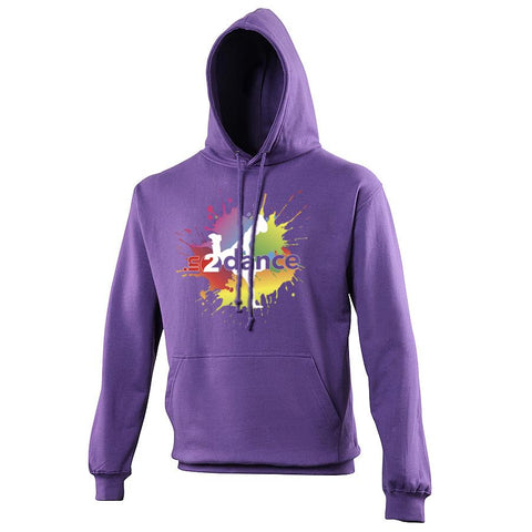 In2Dance: Unisex Hoodie Customisable In2Dance Youth: 3-4