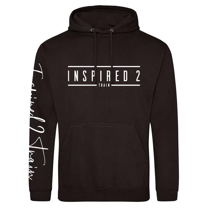 Inspired 2 Train Standard Hoodie (JH001) Inspired 2 Train