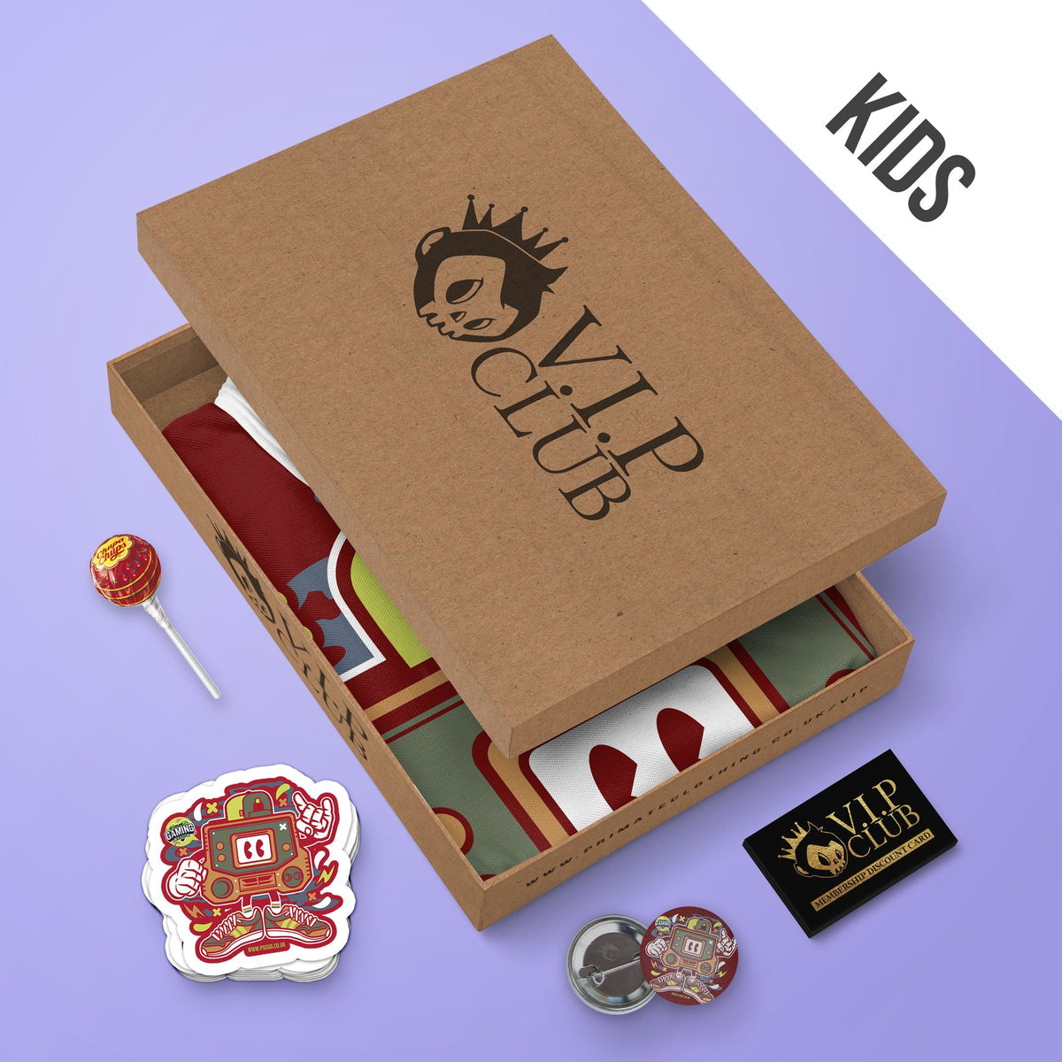 Kids Monthly VIP T-Shirt Box VIP Club
