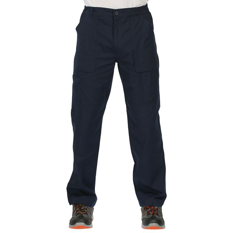 Men's Navy Workwear Trousers (RG232) Bedfordshire Prepared