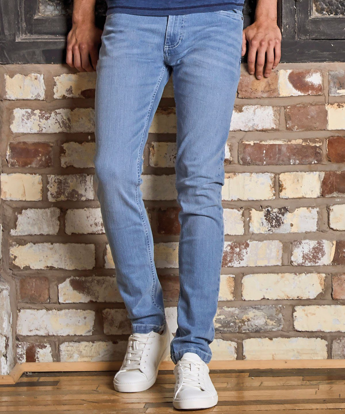 Men's Stretch Slim Jeans Primate Fashion