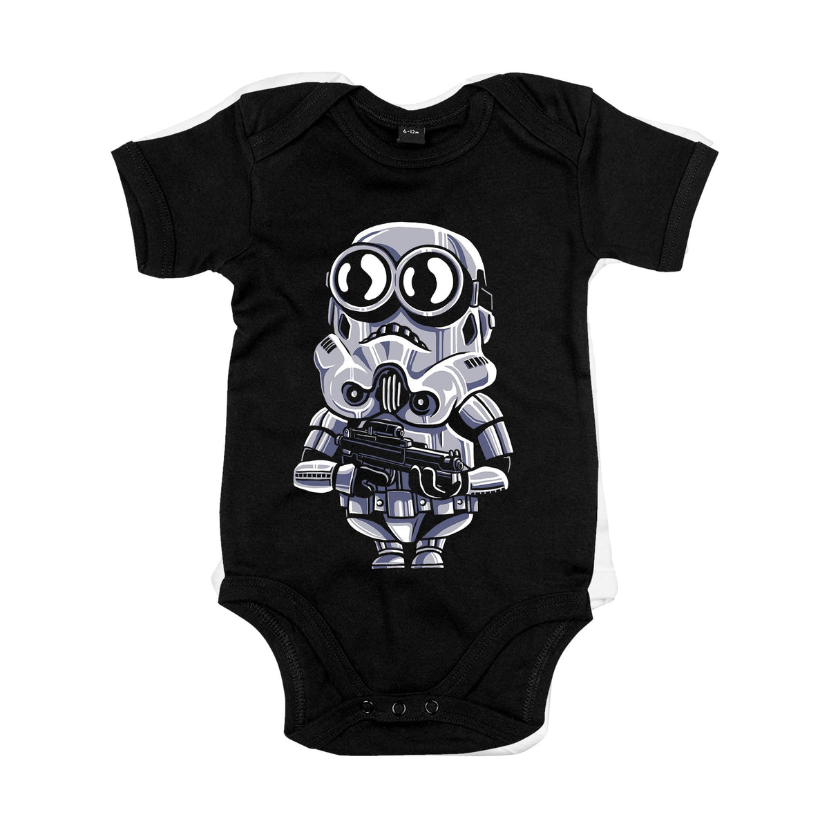 Minion Trooper Primate Novelty Baby Vest 0-3 Months