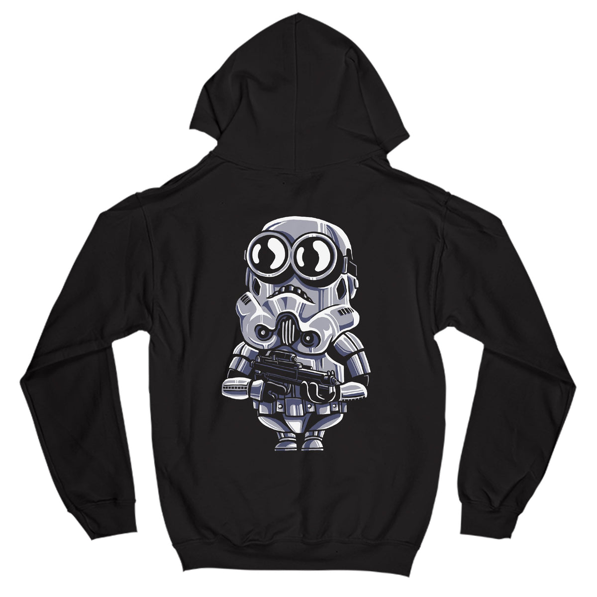 Minion Trooper Primate Novelty Hoodie Adults: S