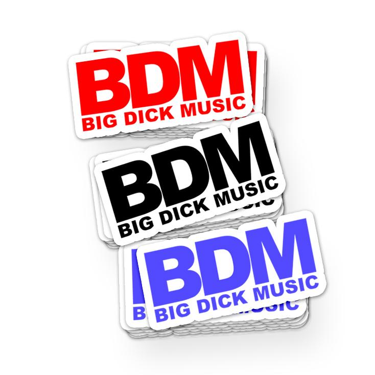 Mixed BDM Stickers BDM