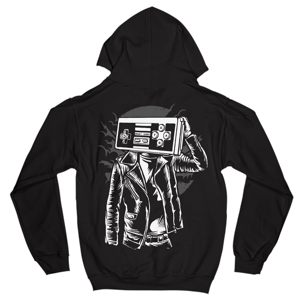 Street Gamer Primate Novelty Hoodie Adults: S
