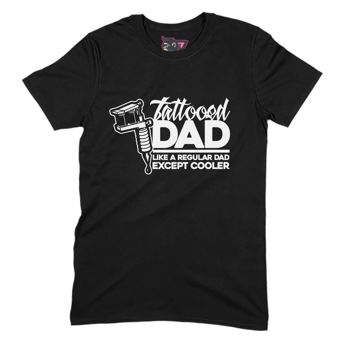 Tattooed Dad Primate Novelty Unisex T-Shirt Adults: S