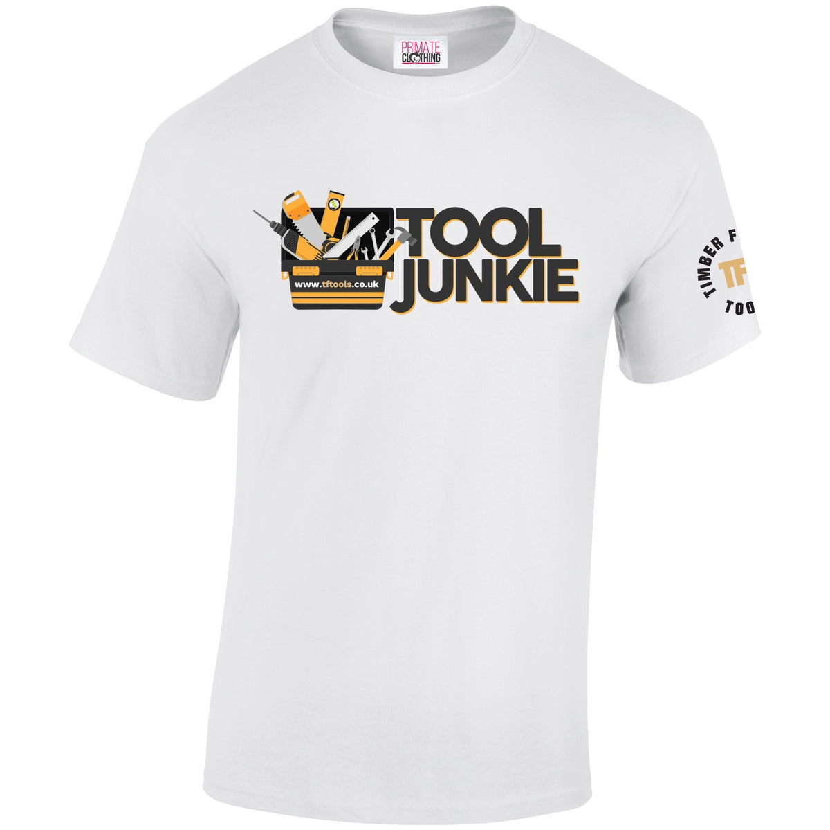 Tool Junkie T-Shirt TF Tools S (GD005) White