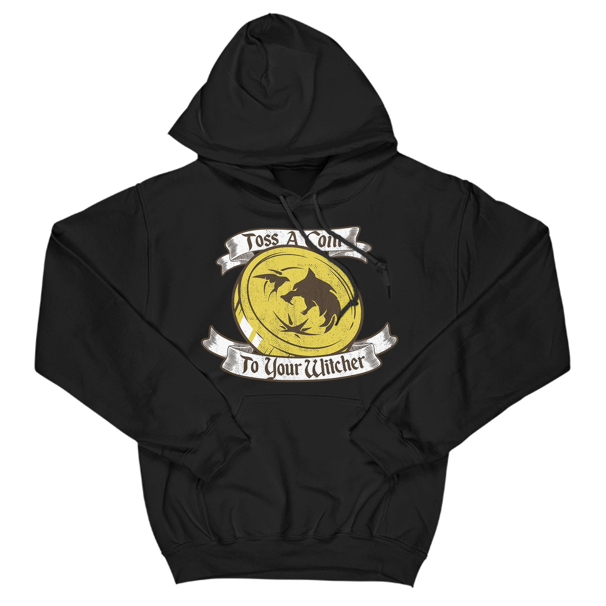 Toss A Coin Primate Novelty Hoodie Adults: S