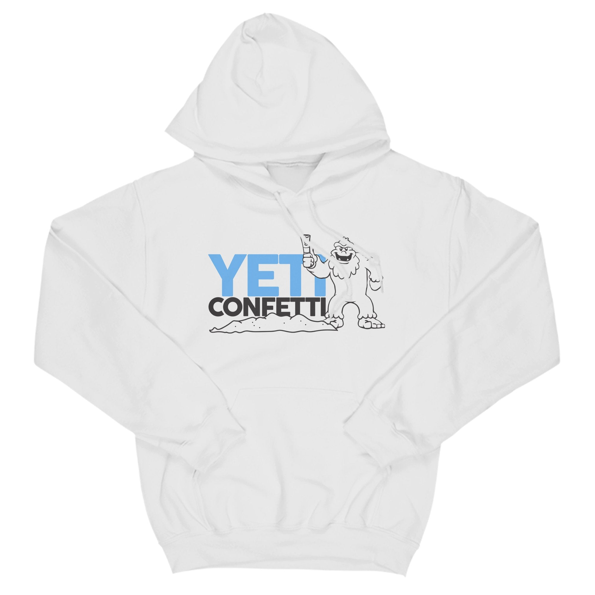 Yeti Confetti Primate Novelty Unisex T-Shirt Adults: S