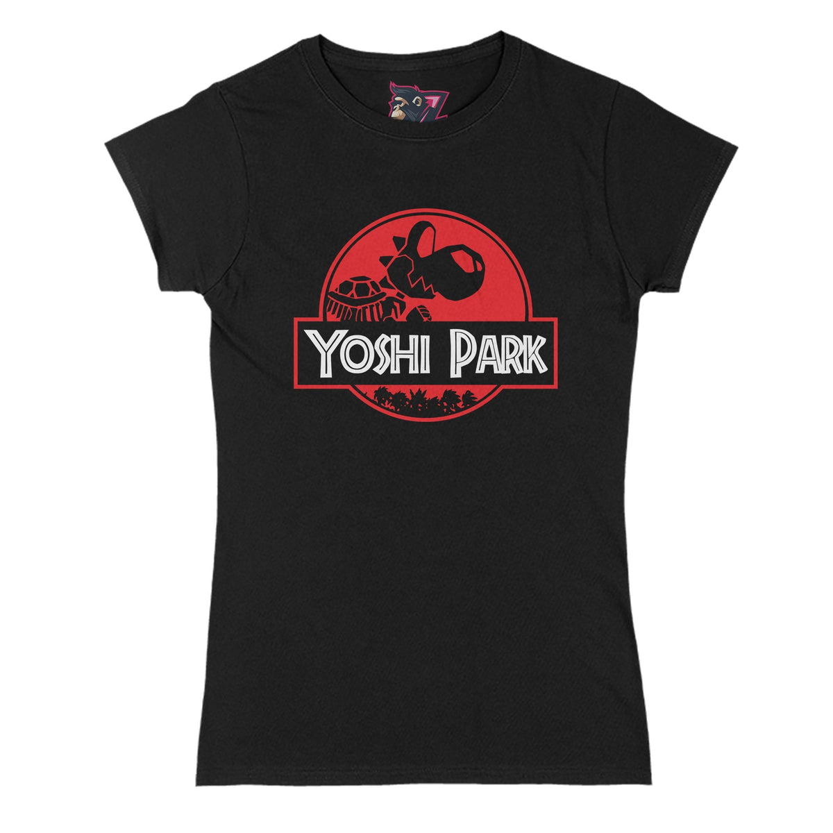 Yoshi Park Primate Novelty Women's T-Shirt Adults: S