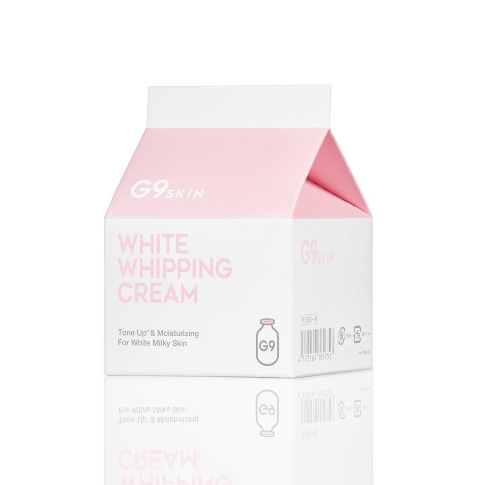 G9SKIN|White Whipping Cream(ウユクリーム) 50g