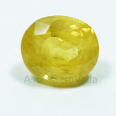 Buy Natural Yellow Sapphire Pukhraj Gemstone Online| Bangkok | Prime ( 1 - 4 Carat )