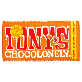 Tony's Chocolonely - Milk, Caramel & Seasalt