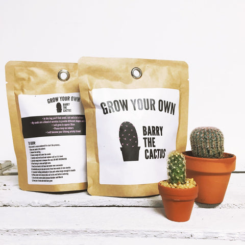 Grow Your Own Barry The Cactus