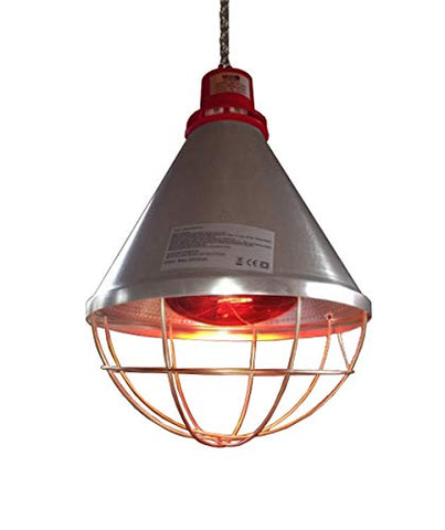 HEAT LAMP WITH 175W BULB