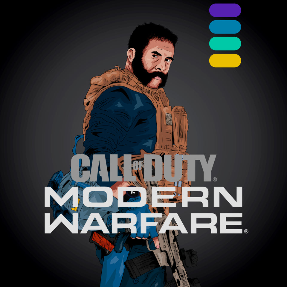 Modern Warfare Gold/Platinum Camo Unlock PS4/PC/XBOX